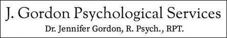 Dr. Jennifer Gordon Registered Child Psychologist